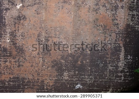 Old painted tarpaulin close-up background - stock photo