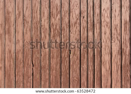 old painted wainscot - stock photo