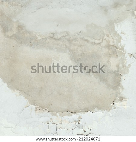 old painted wall texture background - stock photo