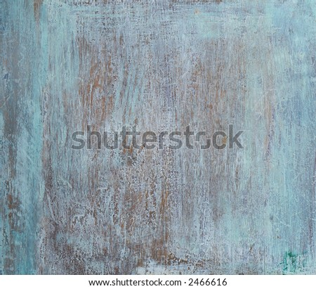 Old painted wood - texture, background - stock photo