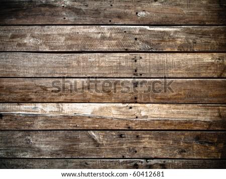 Old panel wood background Horizontal - stock photo