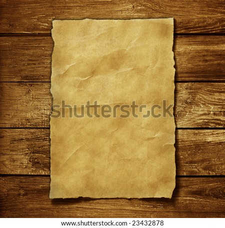 old paper and brown wood texture