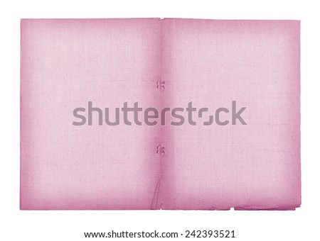 old paper and lenin texture isolated on white background , with clipping path , purple color - stock photo