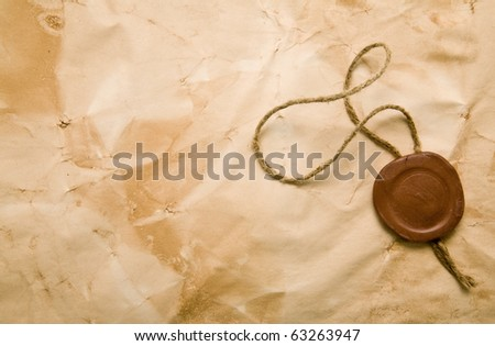old paper as a background - stock photo