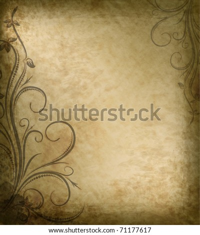 Old paper background. - stock photo
