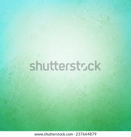 old paper background with distressed worn vintage texture and faded off white center, blank cloudy center with sky blue top border and green grass bottom border concept - stock photo