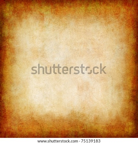 old paper background with grungy structure - stock photo