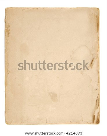 old paper, book blank pages, antique background