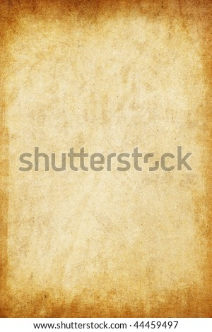 Old paper: can be used as background - stock photo