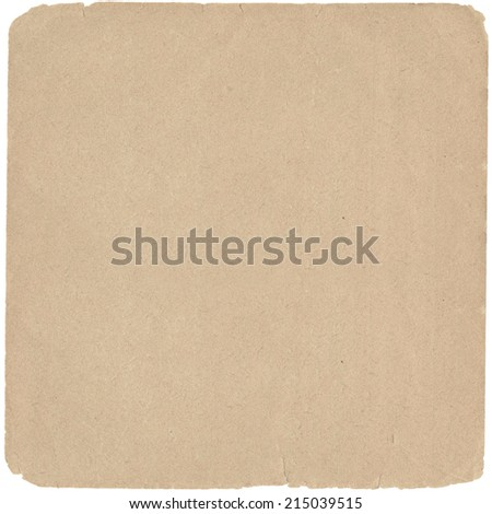 Old paper for texture or background  - stock photo