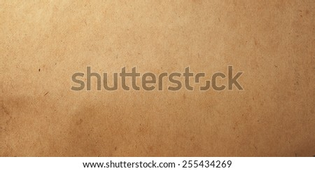 old paper for treasure map or vintage letter - stock photo