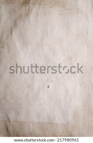 old paper frame for background - stock photo
