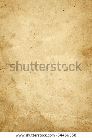 Old paper grunge background - stock photo
