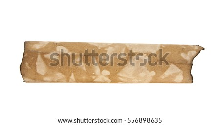 old paper isolated on white background closeup