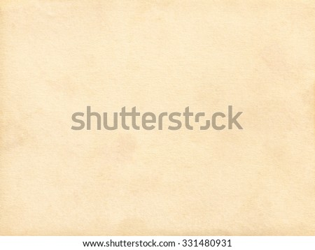 Old paper. Kraft paper. Vintage paper background - stock photo