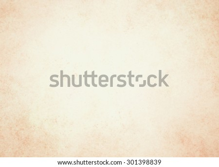 old paper or parchment background, light brown background - stock photo