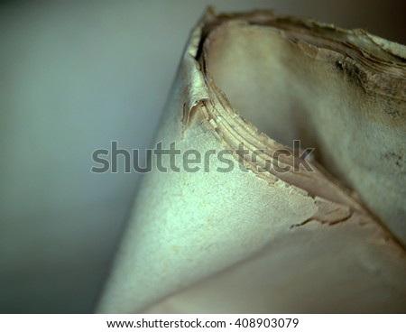 old paper sheets - stock photo