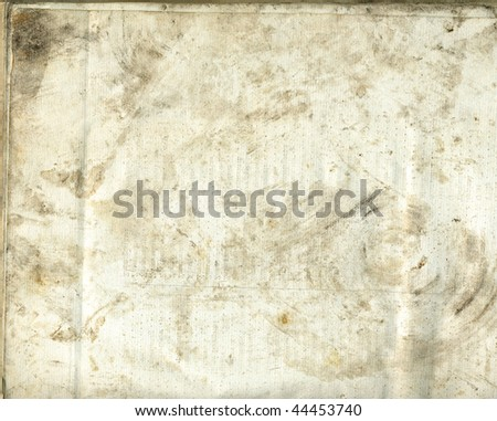 old paper surface blank - stock photo