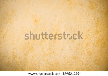Old Paper Texture / Background - stock photo