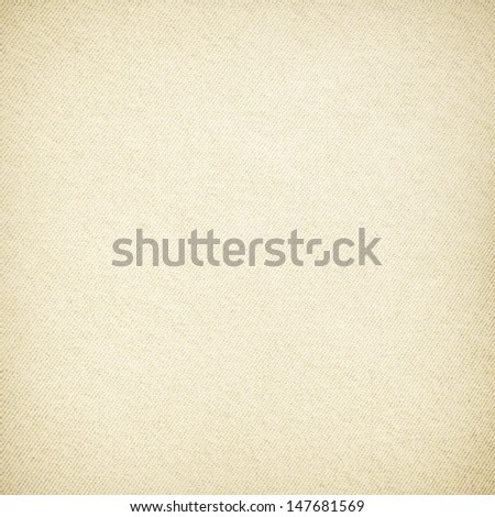 old paper texture background canvas texture with delicate stripes pattern and vignette - stock photo