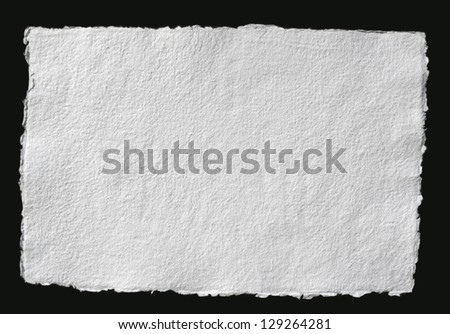 Old paper texture background (handmade) with delicate stripes pattern - stock photo