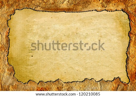 old paper texture close up - stock photo