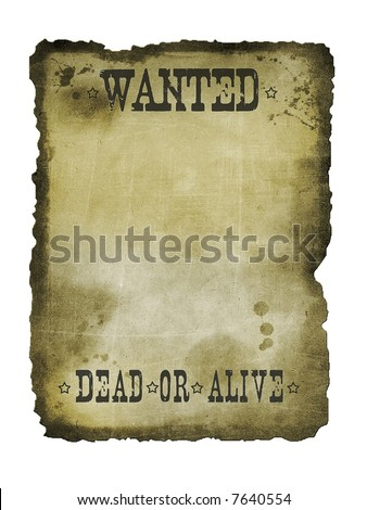 Old paper texture list background - stock photo