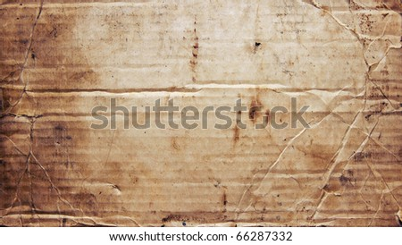 Old paper texture, may use as background - stock photo