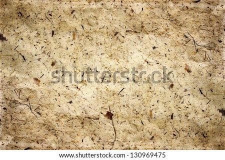 old paper, texture with natural patterns - stock photo