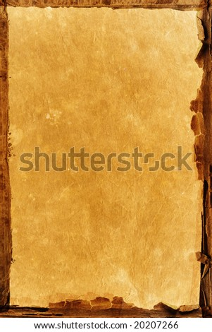 old paper texture with natural patterns - stock photo
