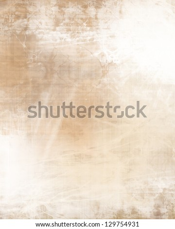Old paper texture with some spots on it - stock photo