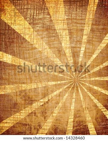 Old paper texture with some stains and rays - stock photo