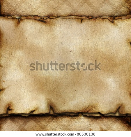Old paper texture with space for text or image - stock photo