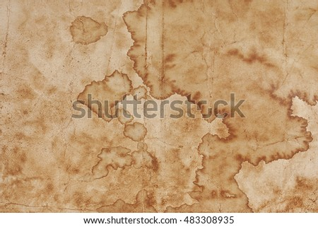 Old paper with stains , vintage background