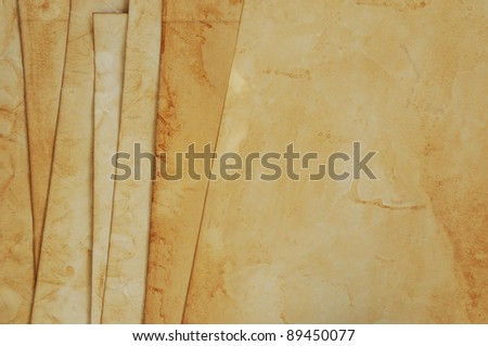 old papers texture - stock photo