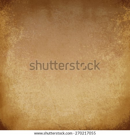 old parchment brown - stock photo