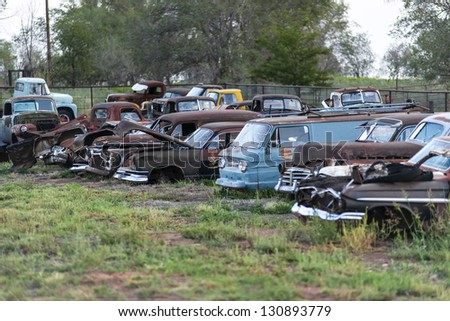 Old Parking, Route 66
