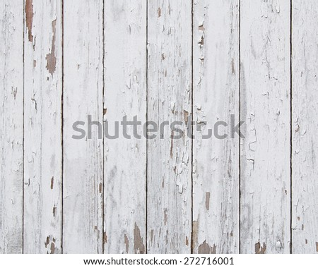 Old Peeling White Paint Background