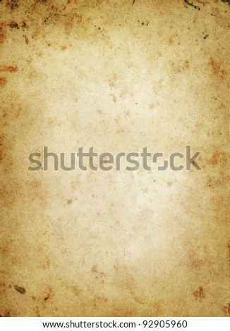 old photo paper grunge background with space for text or image - stock photo