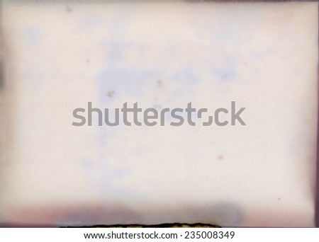 old photographic paper - layer for phot editor - stock photo