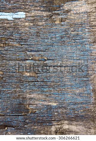 old plywood background - stock photo