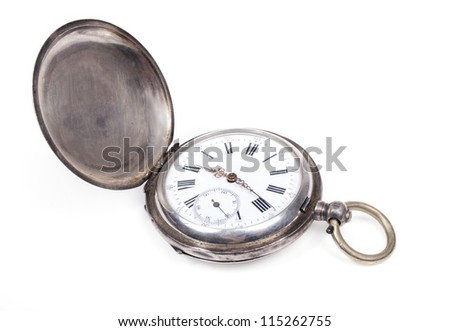 old pocket-watch - stock photo