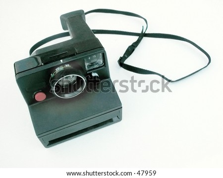old poloroid camera