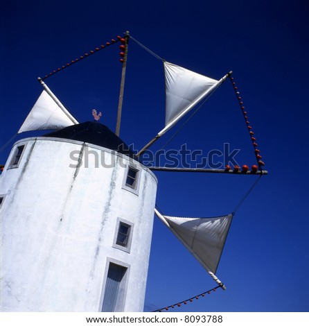 Old Portuguese windmill