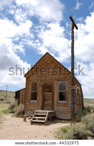 old post office - bodie, california - stock photo