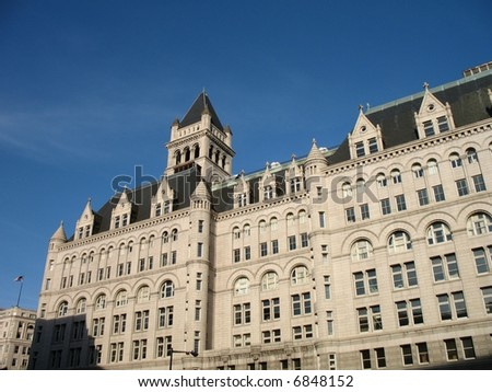 Old Post Office Building in Washington DC
