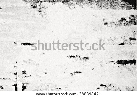 Old posters / Ripped posters / Grunge textures and backgrounds  - stock photo