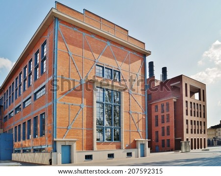 Old power station in Lodz EC1