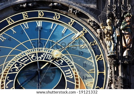old Prague astronomical clock