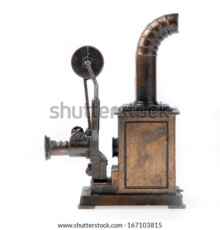 Old Projector. - stock photo